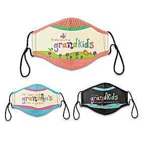 Grandkids Rule Face Mask Set