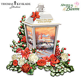 Thomas Kinkade Holiday Traditions Lantern