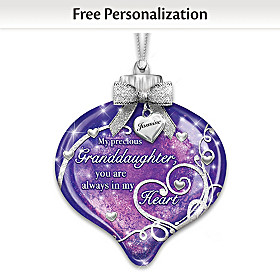 My Precious Granddaughter Personalized Ornament