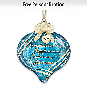 Friends Personalized Ornament