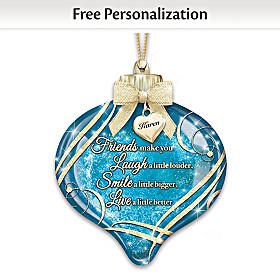 Friends Personalized Ornament