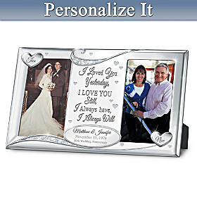 Forever In Love Personalized Frame