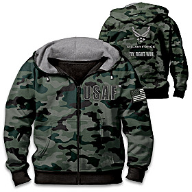 U.S. Air Force Camo Men's Hoodie