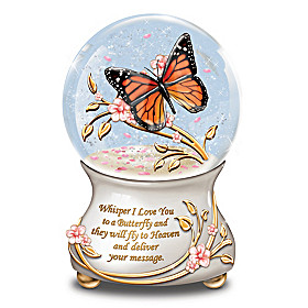 Whispers From Heaven Glitter Globe