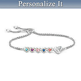 Wrapped In Love Personalized Bracelet