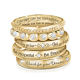 Michelle Obama's Truths Ring Set