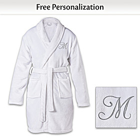 Luxury Just For Me Personalized Robe