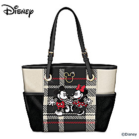 Disney Pretty In Plaid Tote Bag