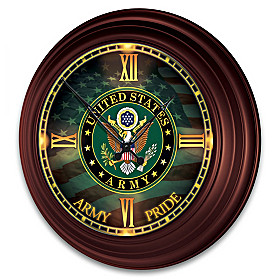 U.S. Army Wall Clock