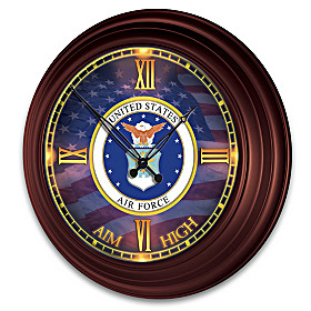 U.S. Air Force Wall Clock