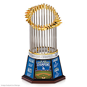2020 World Series Champions Dodgers Trophy Sculpture