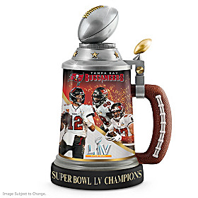 Tampa Bay Buccaneers Super Bowl LV Champions Stein