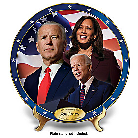 Joe Biden: 46th U.S. President Collector Plate
