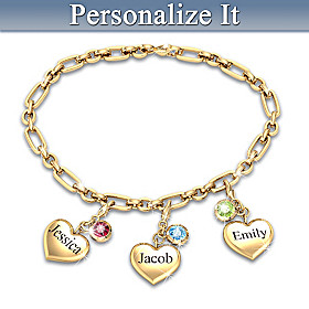 Ever Growing Love Personalized Bracelet