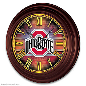 Ohio State Wall Clock