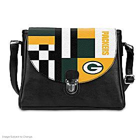 Snap Into The Game Green Bay Packers Handbag
