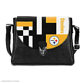Snap Into The Game Pittsburgh Steelers Handbag