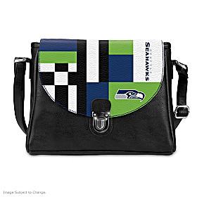 Snap Into The Game Seattle Seahawks Handbag