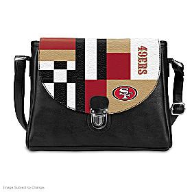 Snap Into The Game San Francisco 49ers Handbag