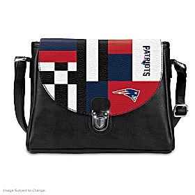 Snap Into The Game New England Patriots Handbag