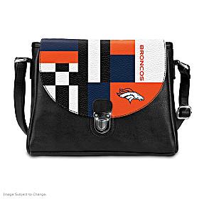 Snap Into The Game Denver Broncos Handbag