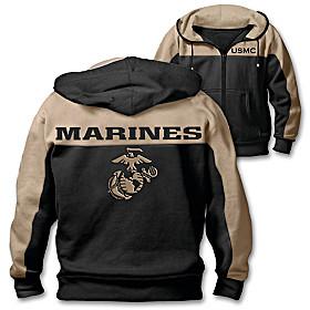 Marine Corps Honor Men's Hoodie