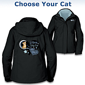 I Love My Cat To The Moon And Back Women's Jacket
