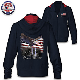 Never Forget Women's Hoodie