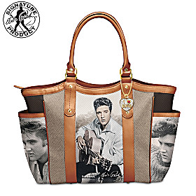 I Love Elvis Tote Bag