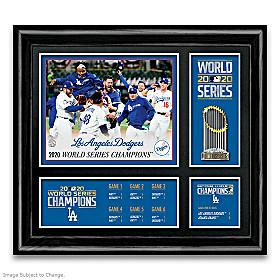 2020 World Series Champions Los Angeles Dodgers Wall Decor