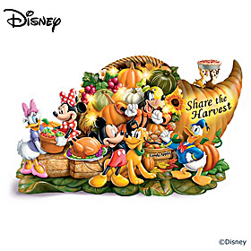 Disney Share The Harvest Sculpture