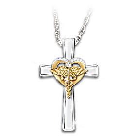 Faithful Caring Pendant Necklace