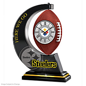 Pittsburgh Steelers Clock