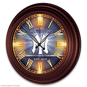 New York Yankees Wall Clock