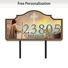 This House Is Built On Faith Personalized Address Sign