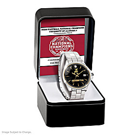 Crimson Tide 2020 Football National Champions Men's Watch