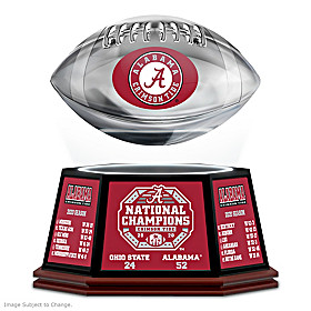 Alabama Football National Champions Levitating Sculpture