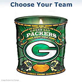 NFL Candleholder
