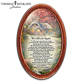 Thomas Kinkade We're All In This Together Wall Decor