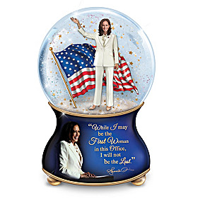 Integrity And Inspiration Glitter Globe