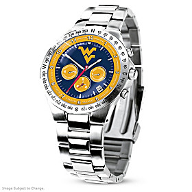 West Virginia Mountaineers Men's Collector's Watch