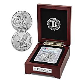 2021 Type 2 American Eagle Silver Dollar Coin
