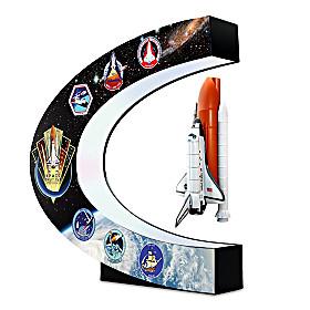 NASA Levitating Space Shuttle Sculpture