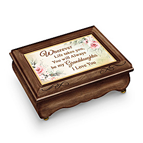 Granddaughter, You Are Loved Music Box