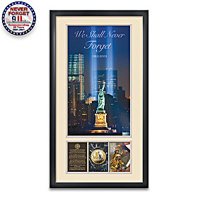 We Shall Never Forget 9/11 Wall Decor
