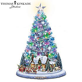 Santa's Night Before Christmas Christmas Tree