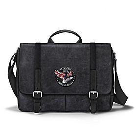 Patriotic Eagle Messenger Bag