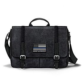 Police Flag Messenger Bag