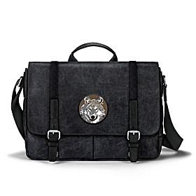 Wild Wolf Messenger Bag