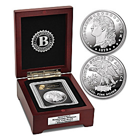 The Schoolgirl Morgan 1 Oz. Fine Silver Special Edition Coin